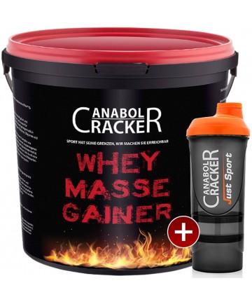 Whey Masse Gainer + Proteinshaker
